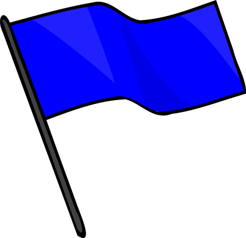 blue flag capture