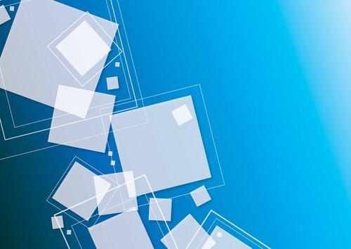 blue  squares  graphics