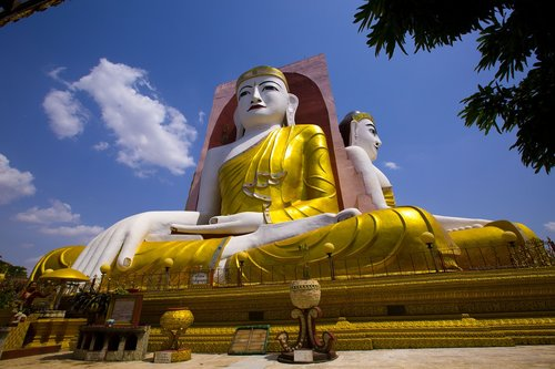 blue  buddhism  asia