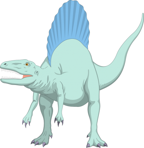 blue dinosaur ancient