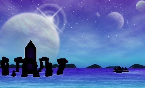 blue mar planets