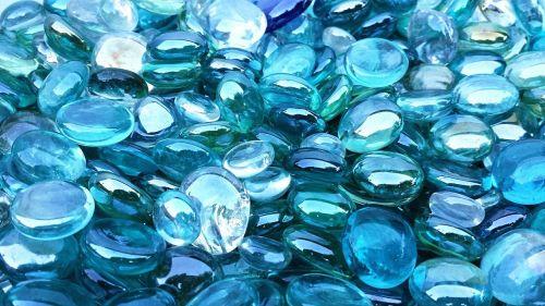 blue green crystal