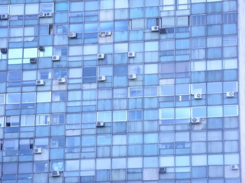 blue arquitecture windows