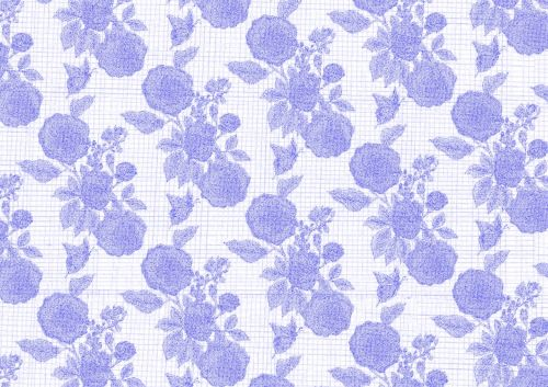 blue flower background wallpaper