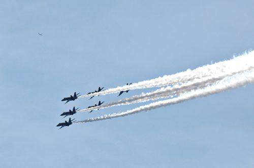 blue angels aerial transportation