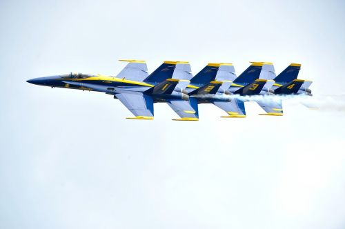 blue angels aircraft flight