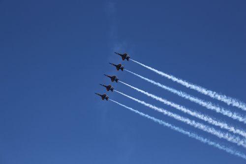 blue-angels airplane marines