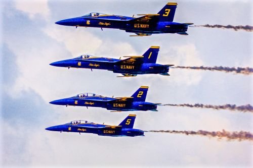 blue angels jets navy