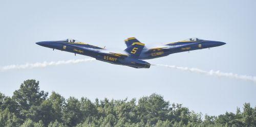 blue angels flight demo team