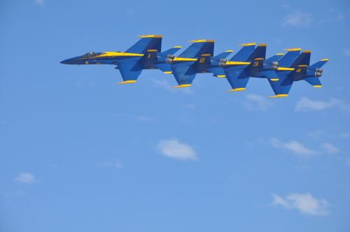 blue angels jets f-18