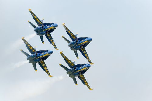 blue angels navy precision