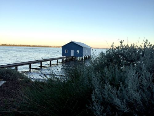 blue boat house perth western australia