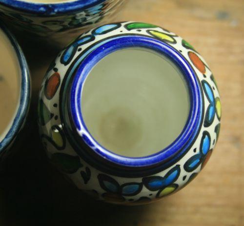 Blue Edged Bowls