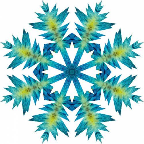 Blue Flake 2
