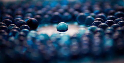 Blue Gel Ball