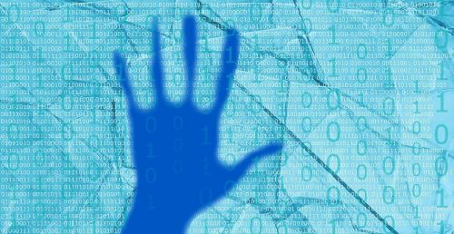 blue hand cyber attack numbers