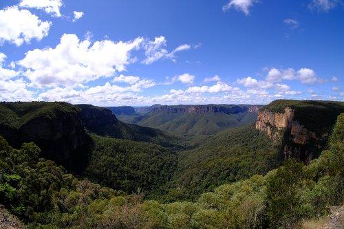 blue mountains  national park  mountains