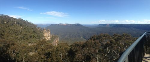blue mountains three sisters valley