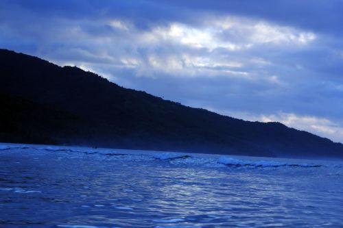 Blue Nature Background 4