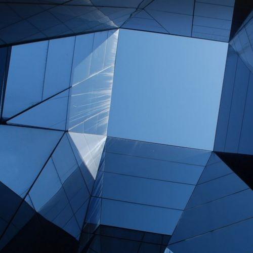 Blue Polygons 1