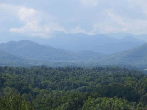 blue ridge mountains nature