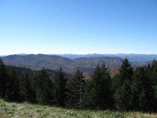 parkway blue ridge mountains