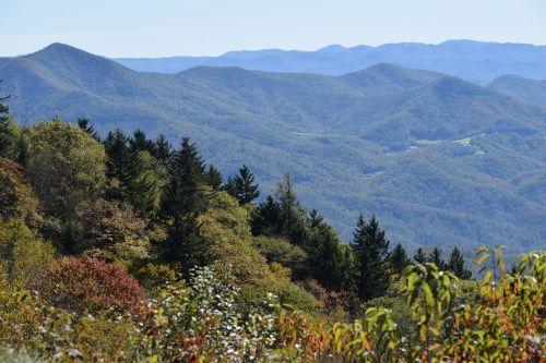 blue ridge parkway nc mountains