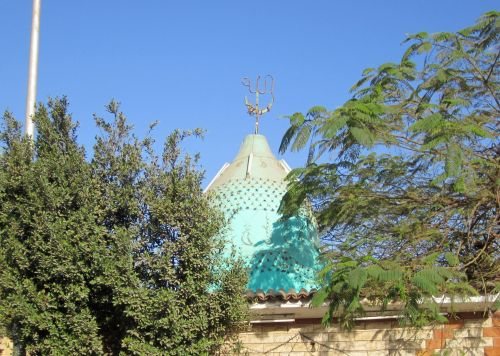 Blue Roof In Giza