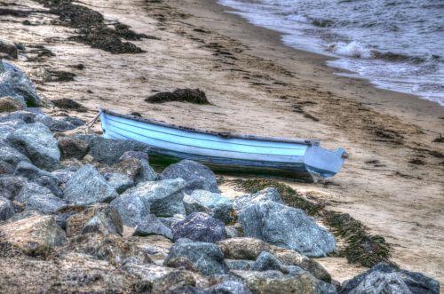 Blue Rowboat