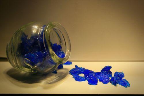 Blue Salt Crystals
