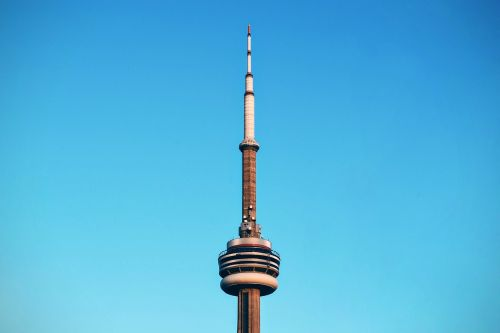 blue sky building canada