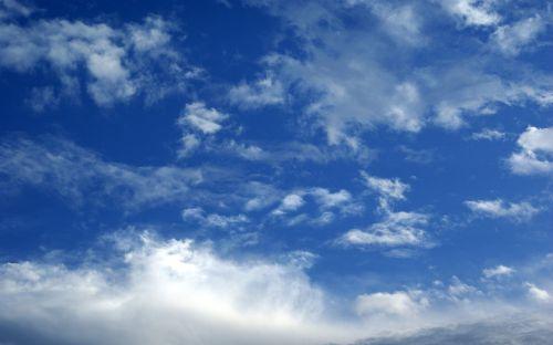 blue sky cloud clear skies