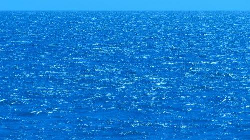 Blue Sky Ocean Sea