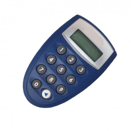 Blue Smallest Pocket Pc