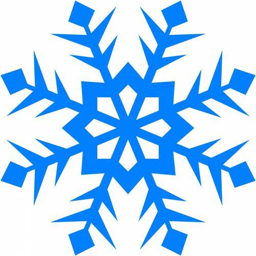Blue Snowflake 99