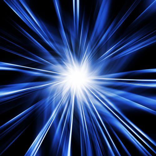 Blue Starburst