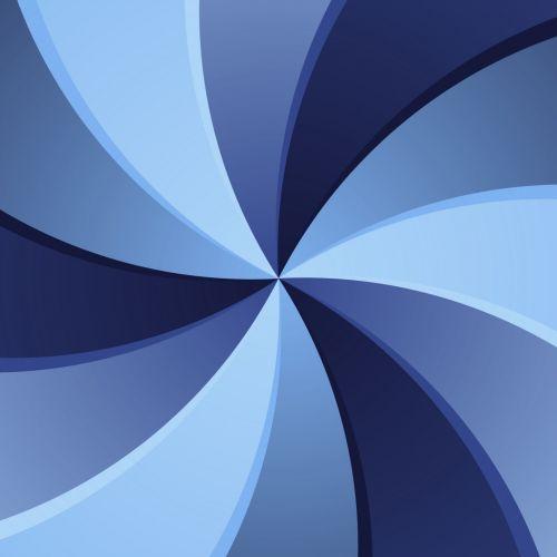 Blue Swirl 1