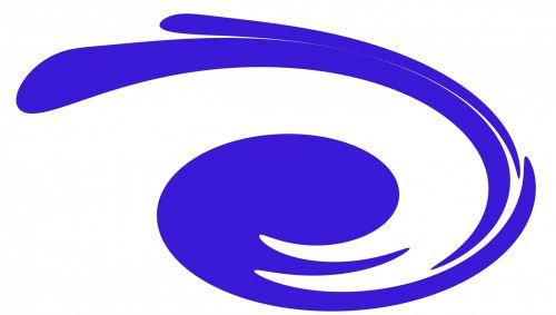 Blue Swirl Art