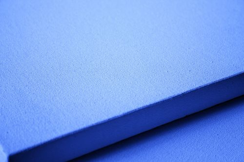Blue Tinted Canvas