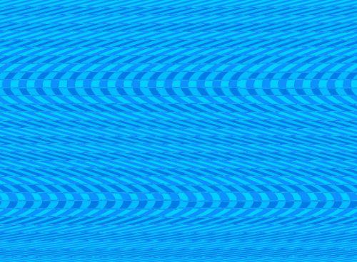 Blue Twisted Block Pattern