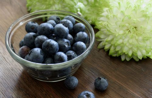blueberries bowl ingredients