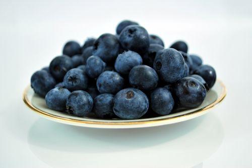 blueberries berries fruit
