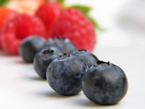 blueberries raspberries strawberries