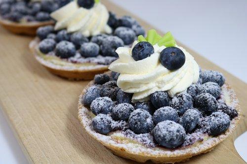 blueberries  banquet  bakery