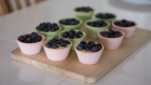blueberry muffins cupcakes dessert