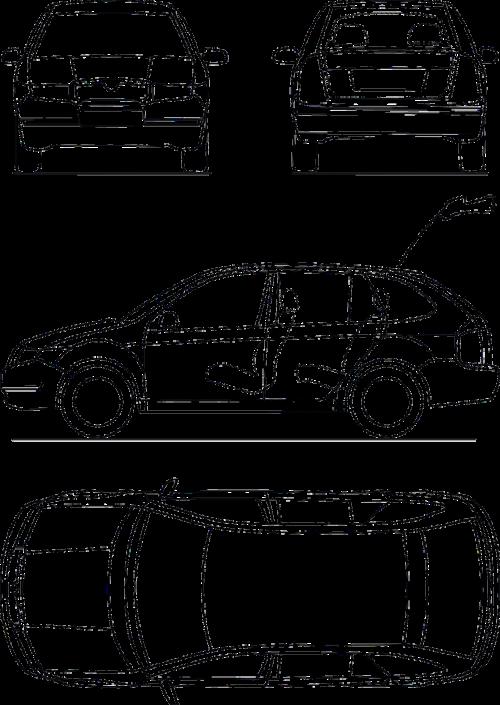 blueprint automobile technical