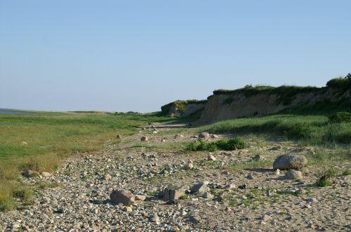 bluff north sea denmark