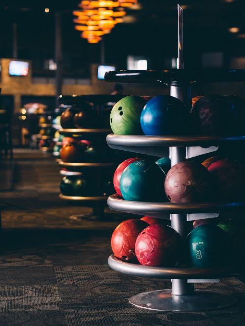 blur bowling bowling alley