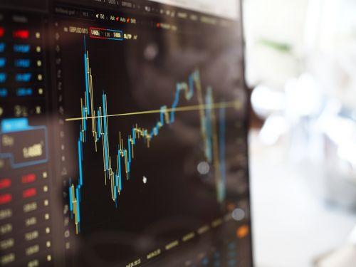 blur business chart