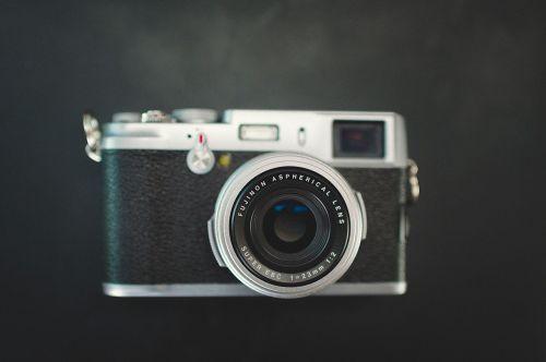blur camera close up